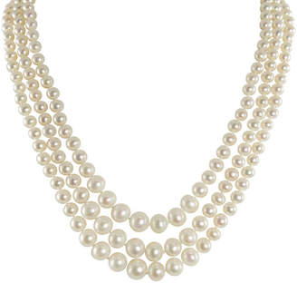 JCPenney FINE JEWELRY Cultured Freshwater Pearl Graduated 3-Strand Necklace