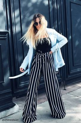 FOREVER 21+ Striped Palazzo Pants $22.90 thestylecure.com