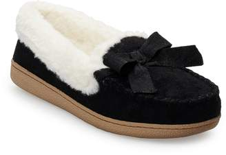 Sonoma Goods For Life Women's SONOMA Goods for Life Basic Microsuede Moccasin Slippers