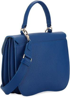 Furla Ducale Pebbled Leather Top-Handle Bag