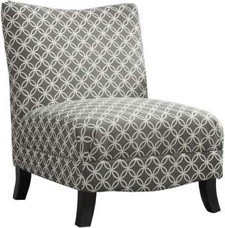 Monarch Circular Plush Accent Chair
