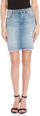 Buffalo David Bitton Ivy High-Rise Denim Skirt