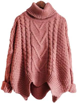Goodnight Macaroon 'Arletha' Cropped Knitted Turtleneck Sweater (4 Colors)