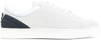 Emporio Armani perforated Tennis sneakers