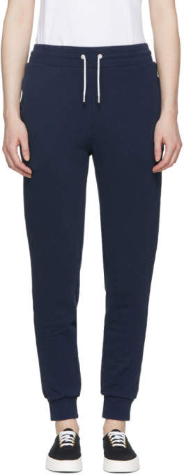 Navy Classic Tricolor Fox Lounge Pants