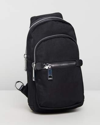 Topshop Warsaw Nylon Backpack