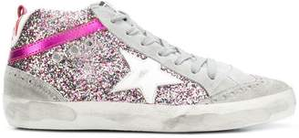 Golden Goose glitter panel Midstar sneakers