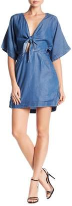 Banjara Tencel Tie Front Dress