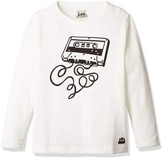 Lee (リー) - (リー) Lee(リー) プリントTシャツ LK0332 218 ホワイトB 130