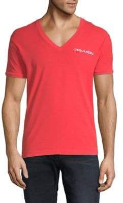 DSQUARED2 V-Neck Cotton Tee