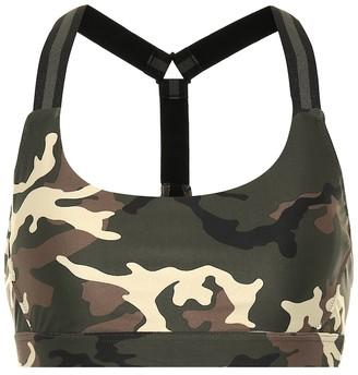 The Upside Camo Alex sports bra