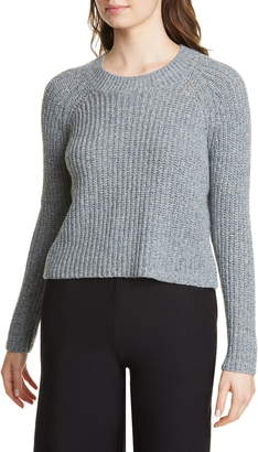 Eileen Fisher Wool & Recycled Cotton Blend Boxy Sweater
