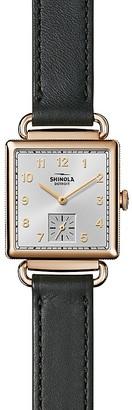 Shinola Cass Watch, 28mm x 27mm $700 thestylecure.com