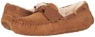 UGG Dakota Leather Bow Women's Moccasin Shoes