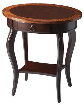 BUTLER Butler Jeanette Cherry Nouveau Oval Accent Table