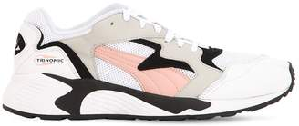 Puma Select PREVAIL CLASSIC LEATHER & MESH SNEAKERS