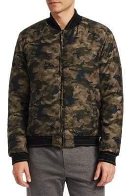 Saks Fifth Avenue MODERN Camouflage Bomber Jacket