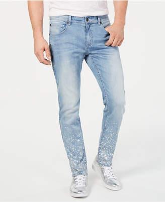 a7c5763c21 INC International Concepts I.n.c. Men Slim-Fit Paint Splatter Jeans