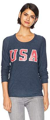 Chaser Women's Cozy Knit Long Sleeve Pullover