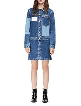 Calvin Klein Jeans Women's Long Sleeve Denim Dress