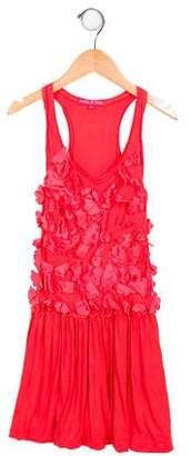 Derhy Kids Girls' Embellished Sleeveless Dress