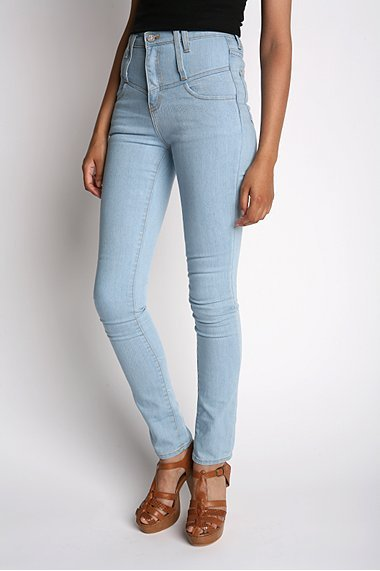 Silence & Noise High-Waisted Skinny Jean