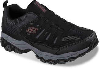 Skechers After Burn Slip-On Sneaker -Grey/Black - Men's