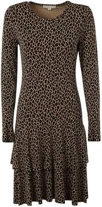 Michael Kors Leopard Print Shift Dress