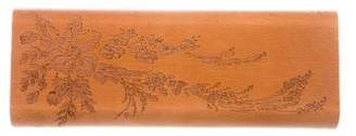 Stella McCartney Wooden Box Clutch