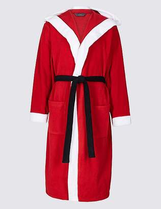 Marks and Spencer Santa Fleece Dressing Gown