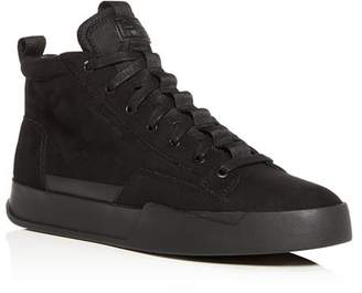 G Star Men's Rackham Core Suede Mid-Top Sneakers