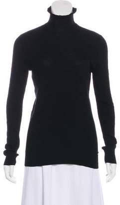 Chanel Wool Turtleneck Top