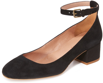 Madewell Victoria Block Heel with Ankle Strap $158 thestylecure.com