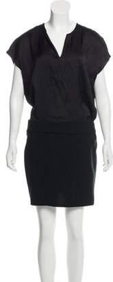 The Kooples Sleeveless Knee-Length Shirtdress