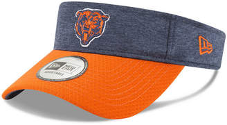 New Era Chicago Bears On Field Sideline Visor
