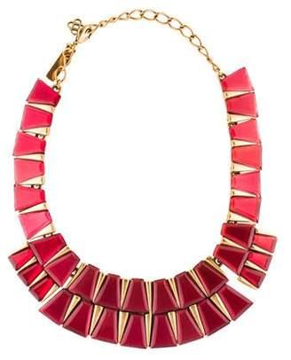 Oscar de la Renta Tapered Baguette Collar Necklace