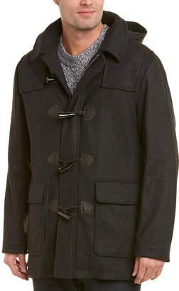 Brooks Brothers Short Wool-Blend Duffle Coat