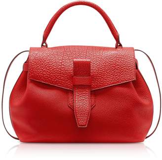 Lancel Charlie Medium Grained Leather Handbag