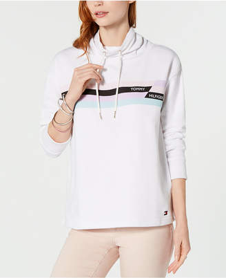 Tommy Hilfiger Graphic Funnel-Neck Sweatshirt