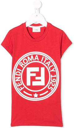 Fendi printed logo T-shirt