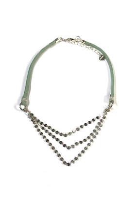 Nakamol Layered Leather Necklace