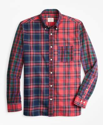 Brooks Brothers Tartan Cotton Flannel Fun Shirt