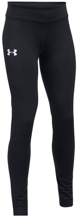 Under Armour Girls 7-16 Under Armour Solid HeatGear Full-Length Leggings
