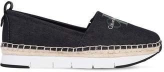 Calvin Klein Jeans 30mm Genna Cotton Canvas Sneakers
