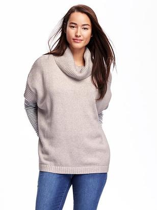 Cowl-Neck Poncho for Women $44.94 thestylecure.com