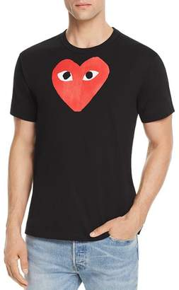 Comme des Garcons Red Heart Graphic Tee