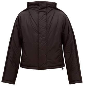 Maison Margiela High Neck Padded Jacket - Mens - Black