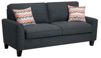 "Serta at Home Astoria 73"" Sofa in Charcoal"