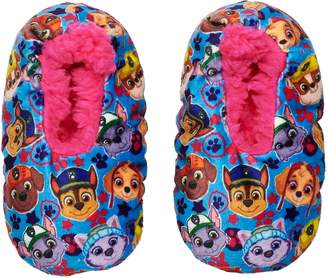 Toddler Girl Paw Patrol Chase, Marshall, Rubble & Skye Fuzzy Babba Slipper Socks
