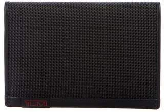 Tumi Nylon Leather-Trimmed Wallet w/ Tags